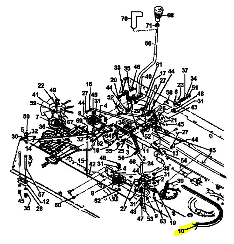 Wiring Diagram For Cub Cadet 125